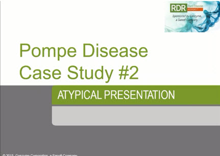 A Case Study in Identifying Rare Neuromuscular Disease