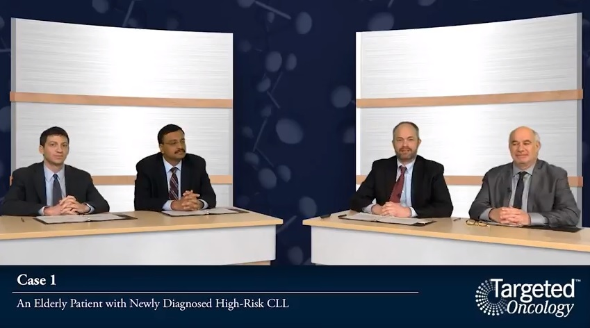 Case 1: An Elderly Patient With Newly Diagnosed High-Risk CLL