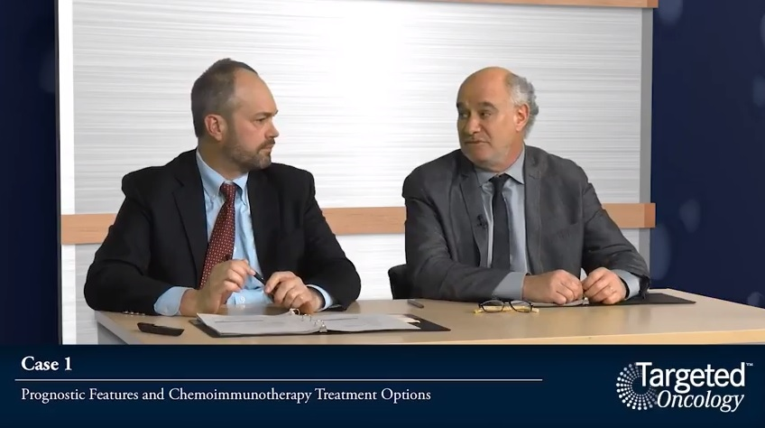 Case 1: Prognostic Features and Chemoimmunotherapy Treatment Options