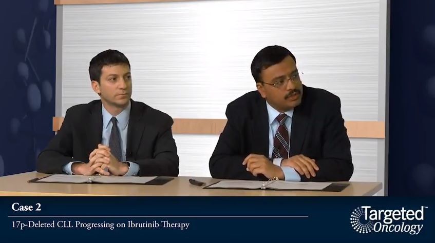 Case 2: 17p-Deleted CLL Progressing on Ibrutinib Therapy