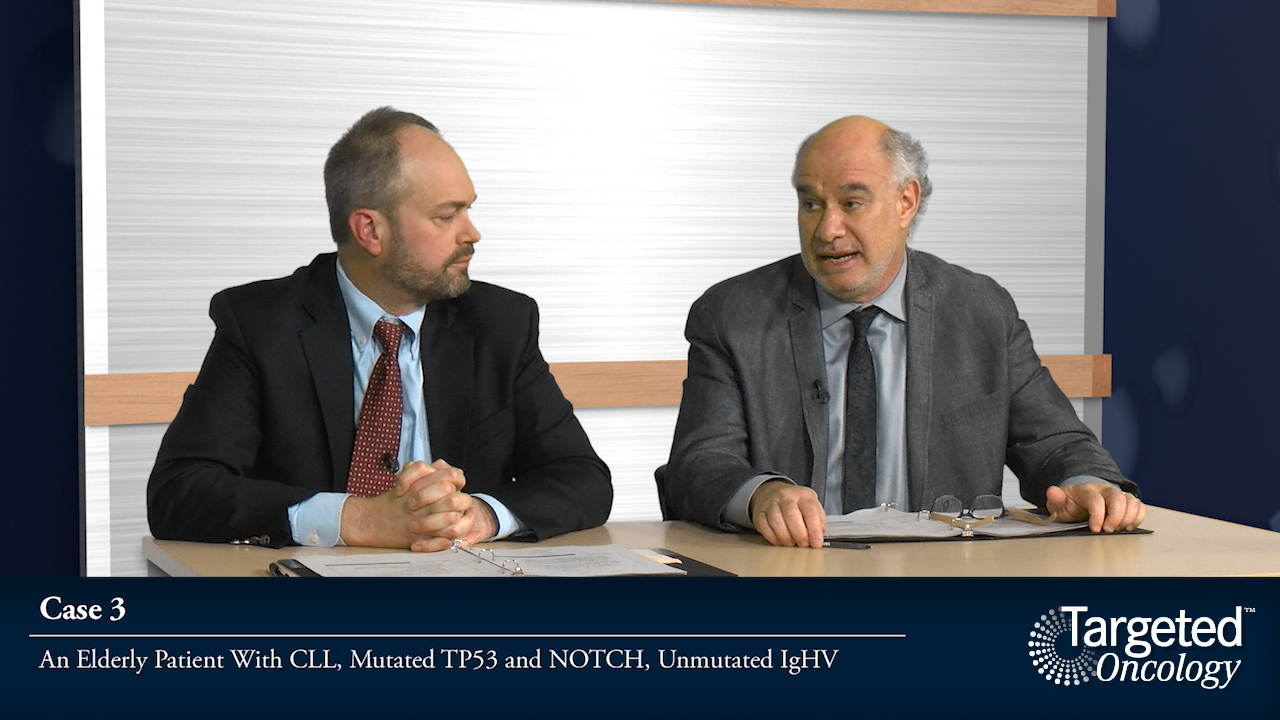 Case 3: Elderly Patient With CLL, Mutated TP53 and NOTCH, Unmutated IgHV