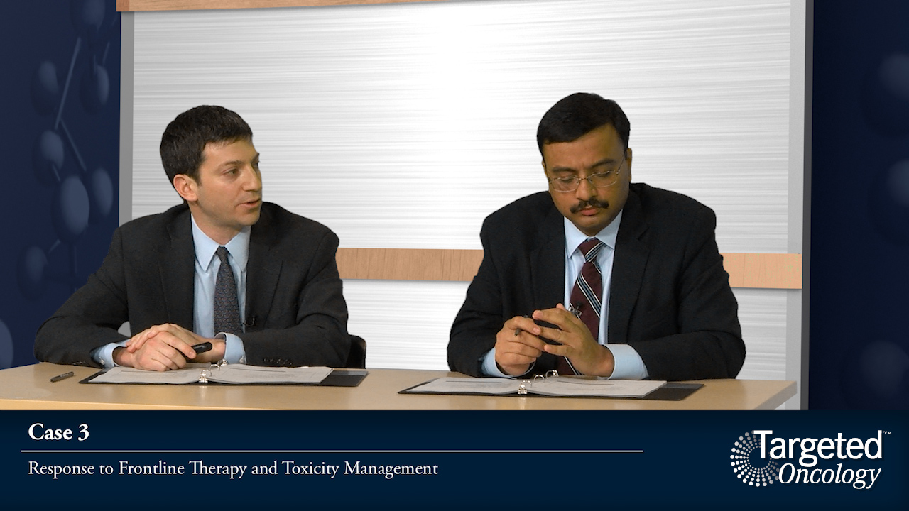 Case 3: Response to Frontline Therapy and Toxicity Management