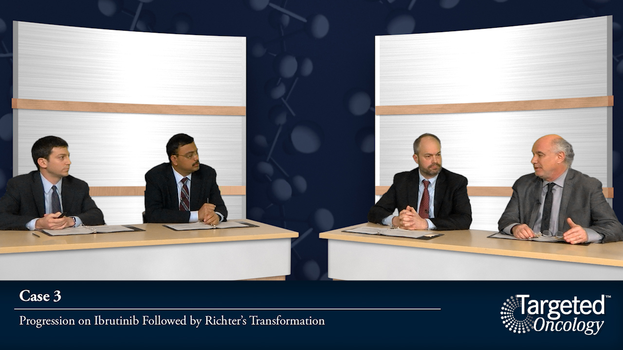 Case 3: Progression on Ibrutinib Followed by Richter Transformation