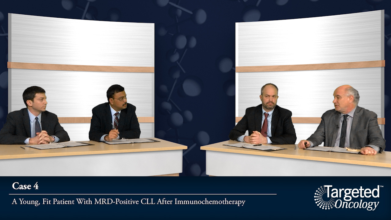 Case 4: A Young, Fit Patient With MRD-Positive CLL After Immunochemotherapy
