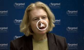 Dr. Matulonis Discusses Mirvetuximab Soravtansine Plus Pembrolizumab in Ovarian Cancer